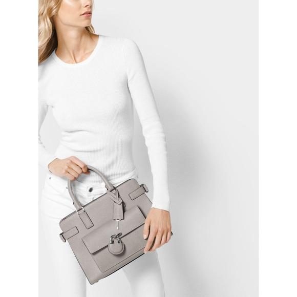 b7ab704665bc Michael Kors Emma Saffiano Leather Satchel. M_5ac5692145b30c20ae908bf2.  Other Bags ...